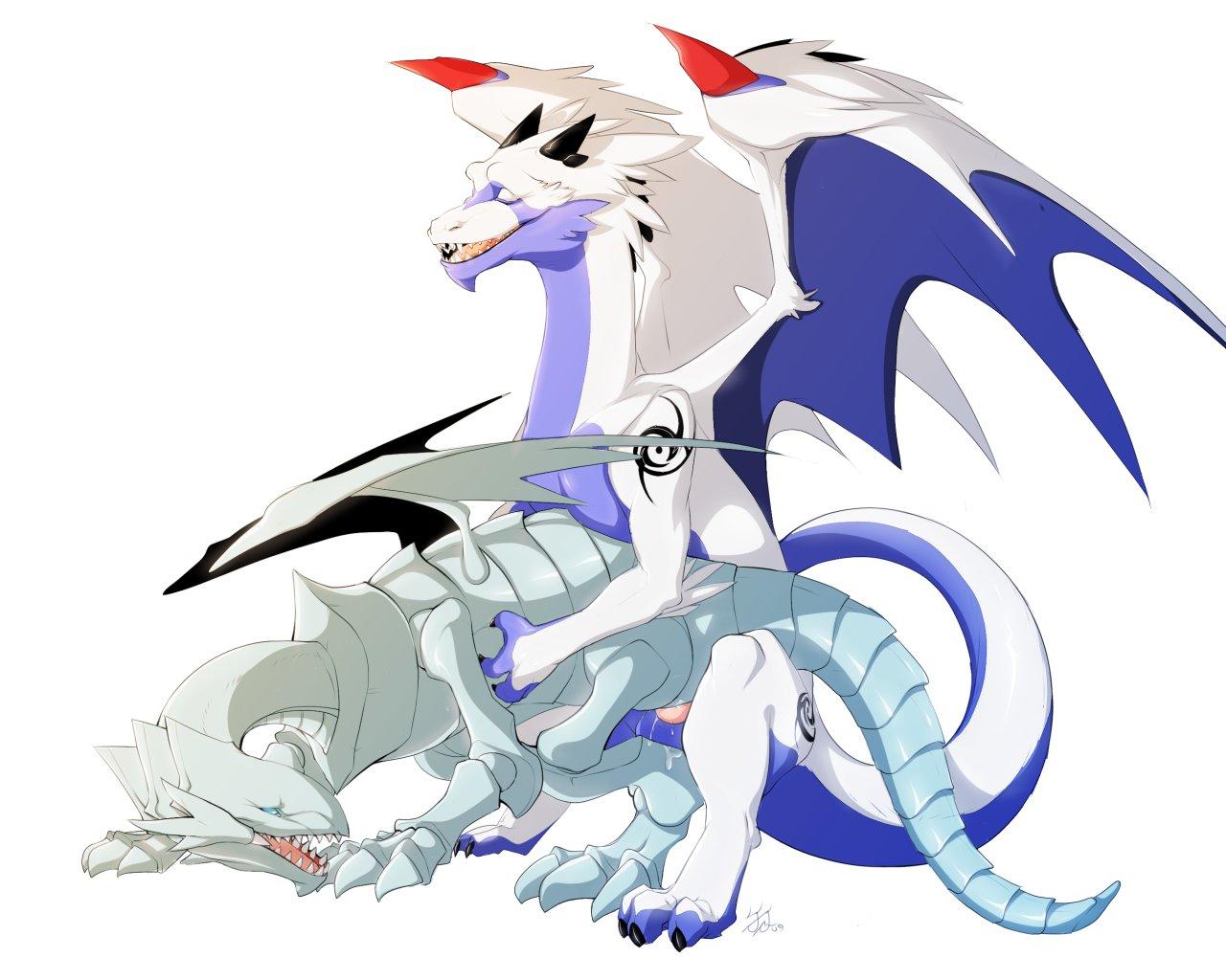 blue eyes white dragon My little pony rainbow dash naked