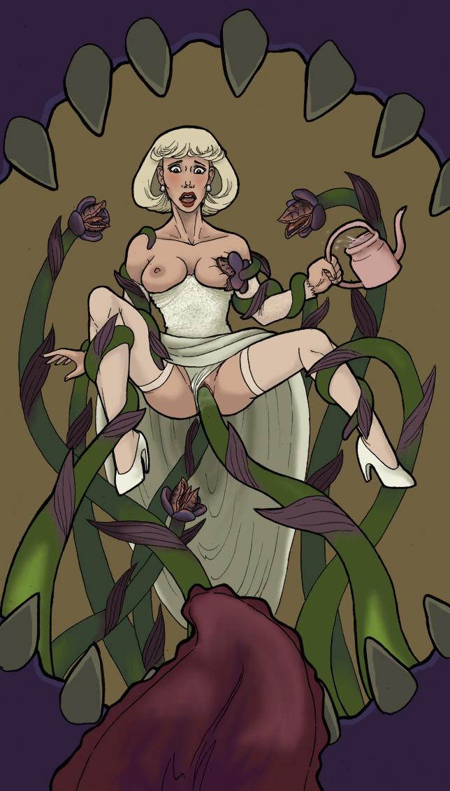 tentacle of secret green mania Chel from road to el dorado