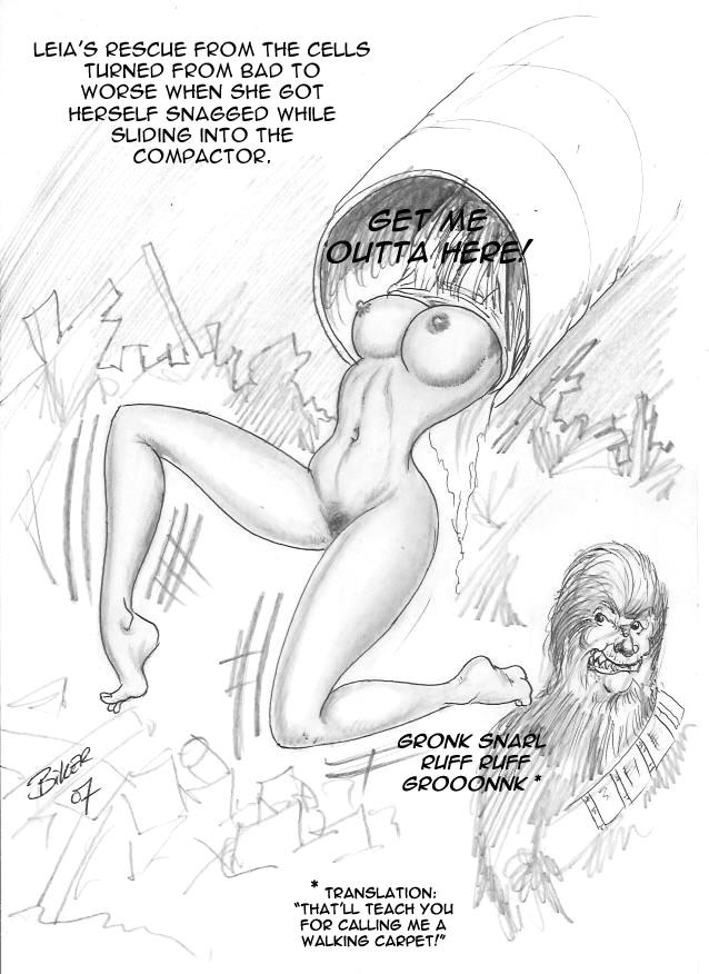 metal princess wardrobe leia bikini malfunction Boku no futatsu no tsubasa