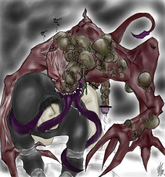 smoker x 4 hunter left dead Dragon quest 11 king squid