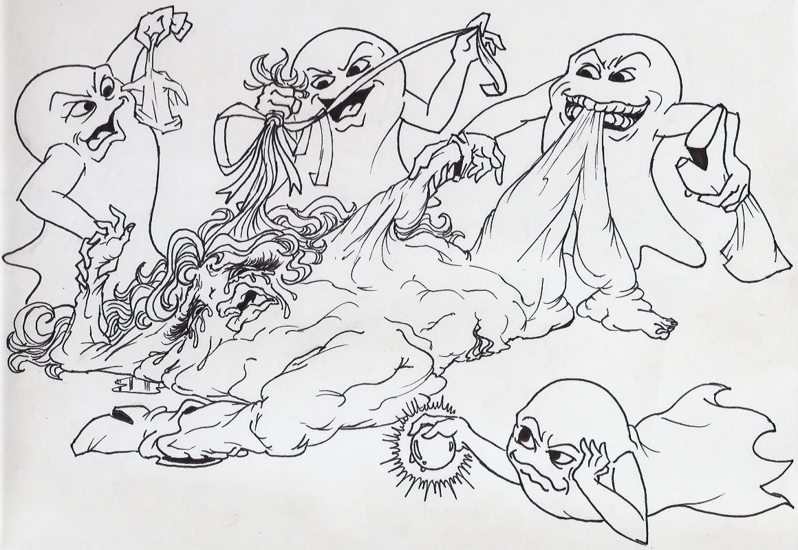pac-man by minus8 animation ghosts Khalisah bint sinan al jilani