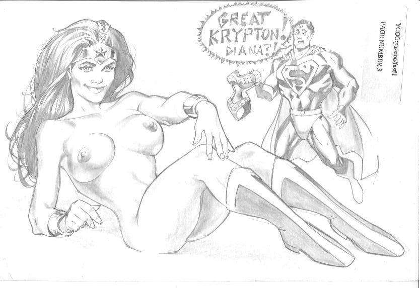 superman and woman wonder xxx Shinmai maou no testament mio naruse