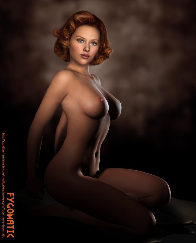 scarlett widow nude black johansson Bulma de dragon ball super
