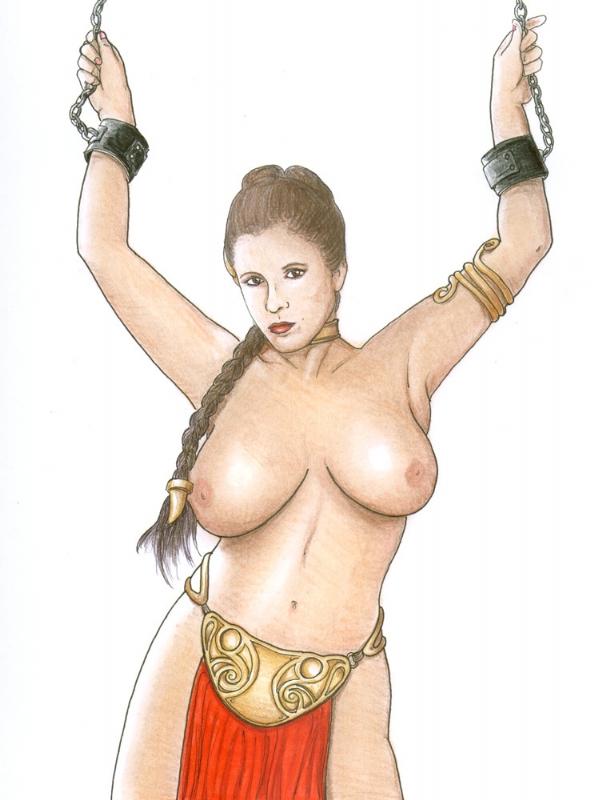 princess leia bikini wardrobe metal malfunction Wolf guy: ookami no monshou