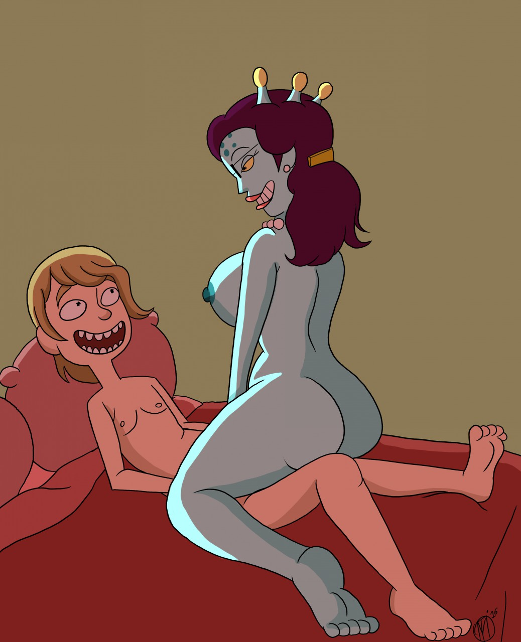 naked summer morty rick and Disney and nick girls upskirt and cameltoe