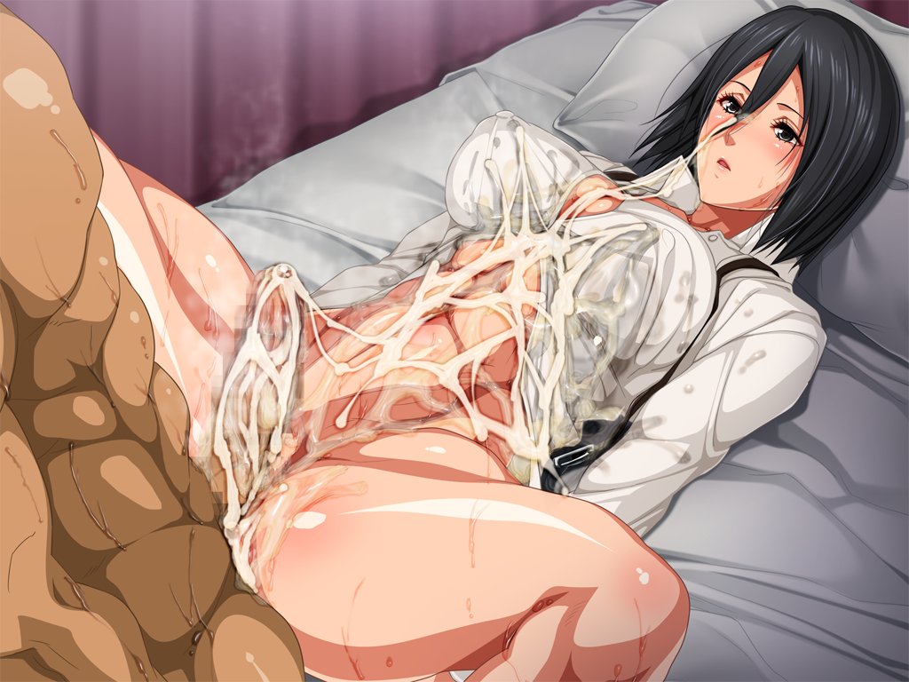 mikasa naked titan attack on Anything's a dildo if you're brave enough quote