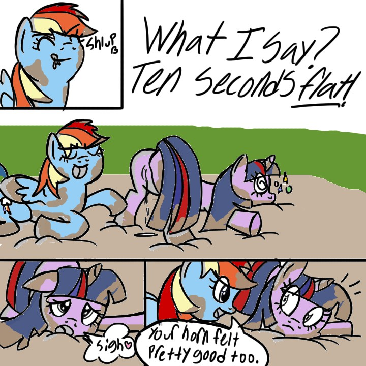 dash rainbow fan mlp art Trials in tainted space poe a