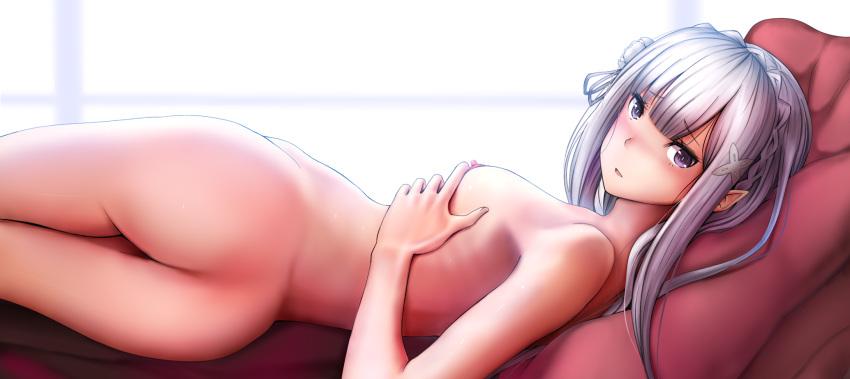 hajimeru seikatsu kara isekai emilia re:zero King of the hill girls naked