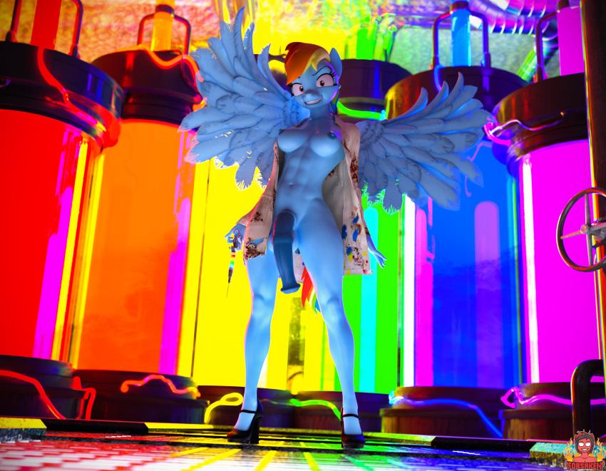 dash art fan rainbow mlp Kill la kill marching band