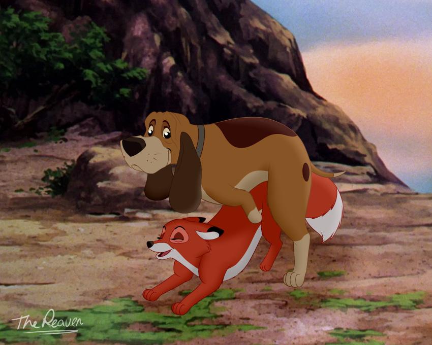 and hound chief the the fox Akame ga kill leone nude