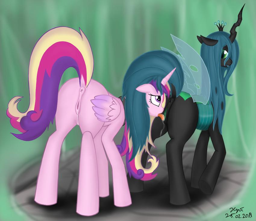 from chrysalis my pony little queen Darling in the franxx danbooru