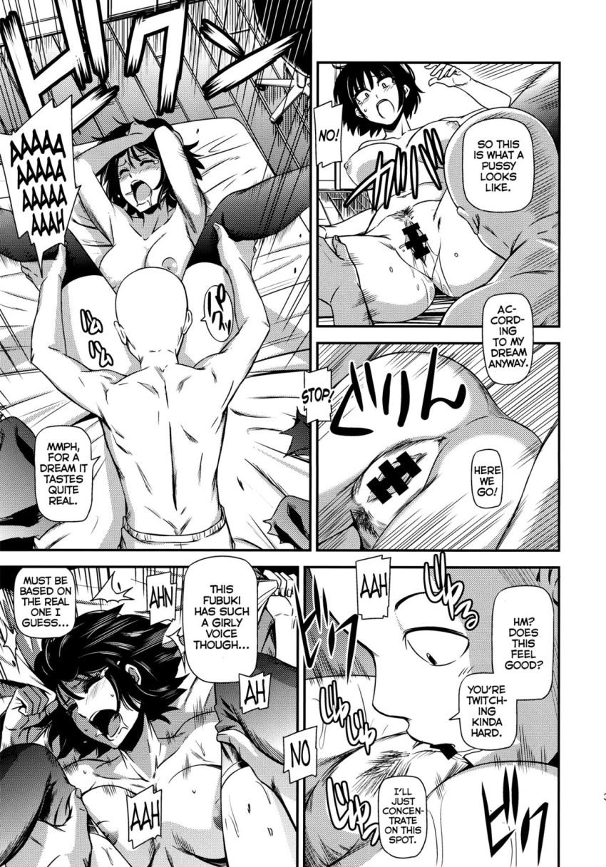 one mizuki captain punch man Fubuki from one punch man