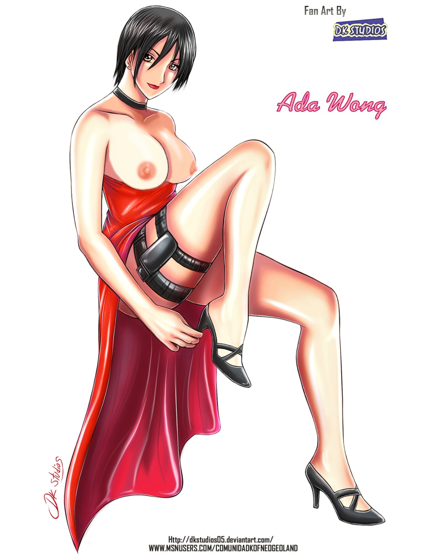 evil resident ada porn wong Soul and maka in bed