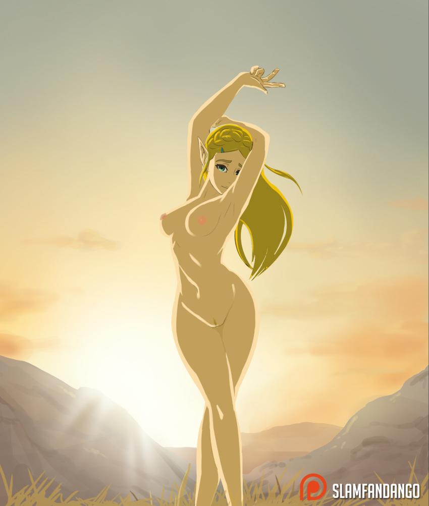 wild breasts the zelda of Dragon ball z pan nude