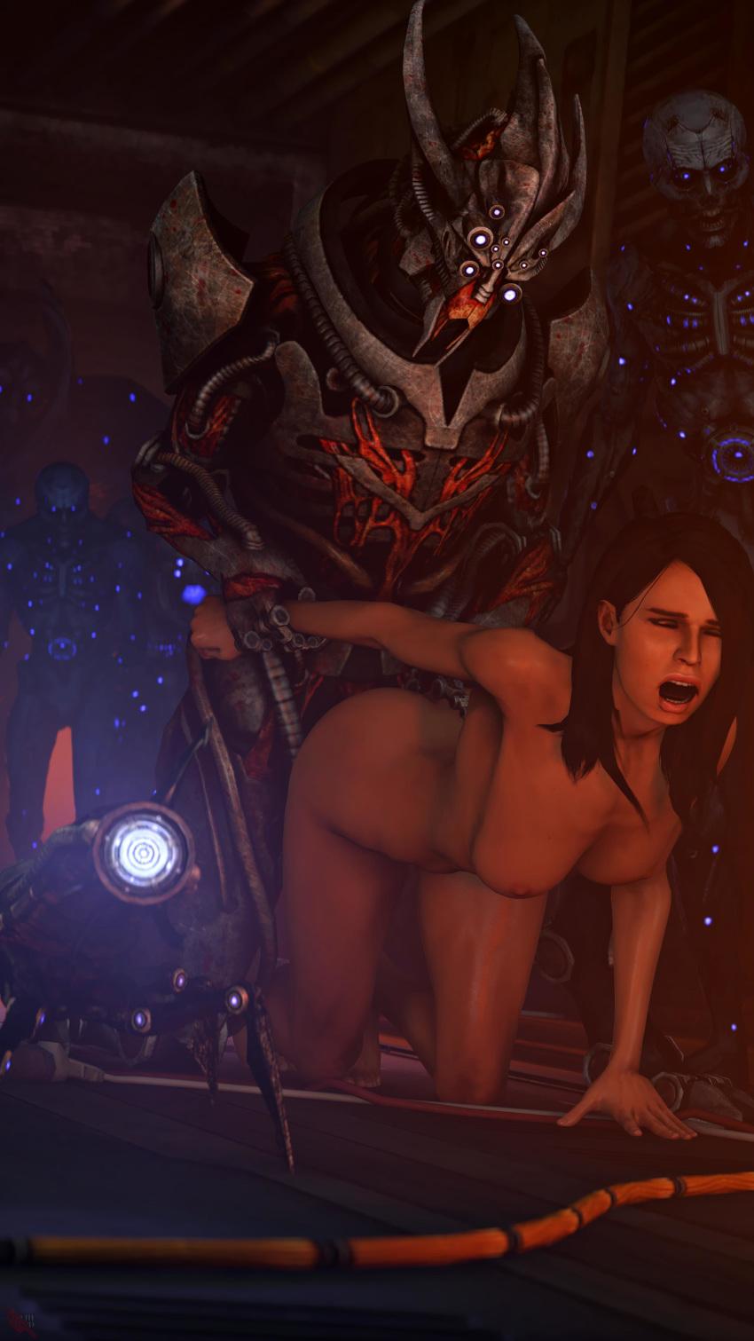 1 shepard effect female asian mass Princess robot bubblegum