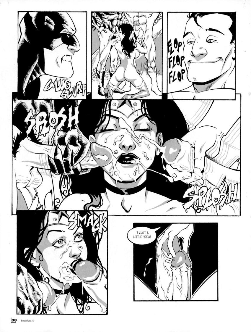 wonder and xxx superman woman Mogeko castle yonaka x moge-ko