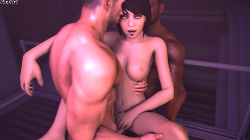 mass female shepard asian 1 effect Seikon no qwaser tomo boobs