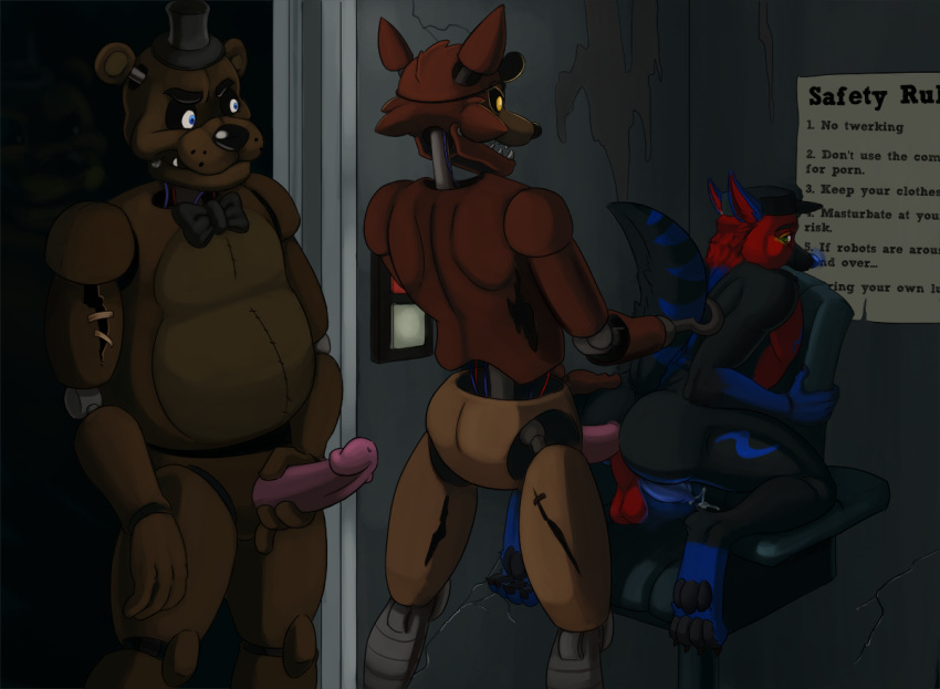 freddy's five nights at sex having Ge hentai league of legends
