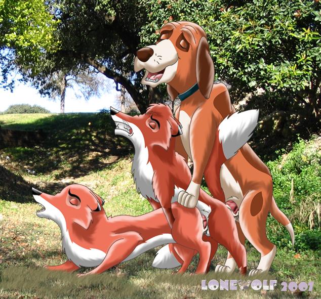 and the chief fox hound Yobai suru shichinin no harame