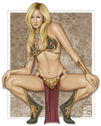 princess leia wardrobe malfunction costume slave Dungeon ni deai o motomeru no wa machigatte iru darou ka
