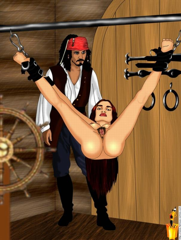 of caribbean the pirates Trials in tainted space erika