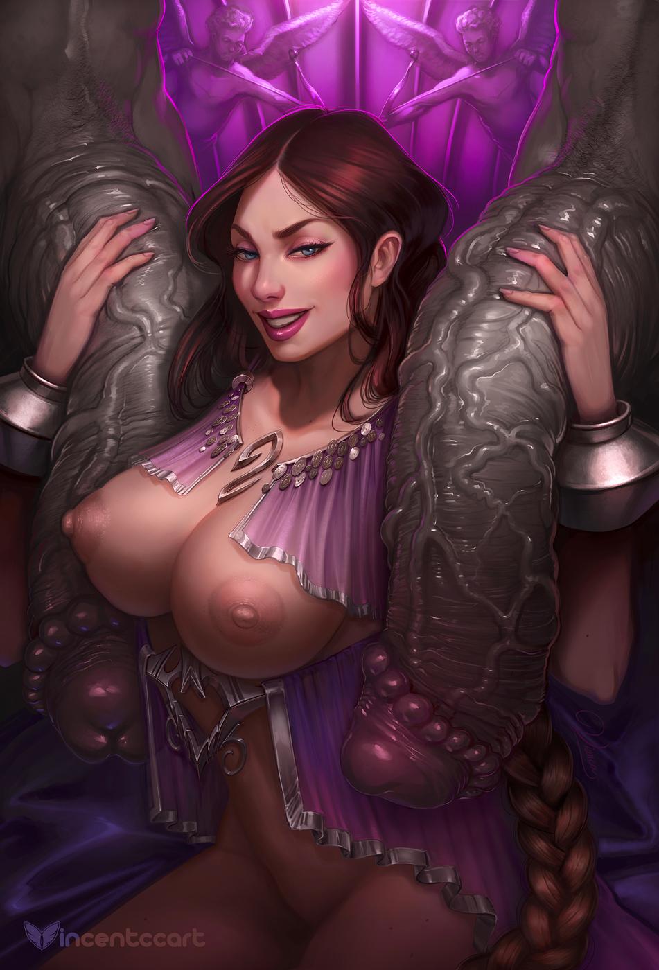 of 4 war nude god Fate/grand order carmilla