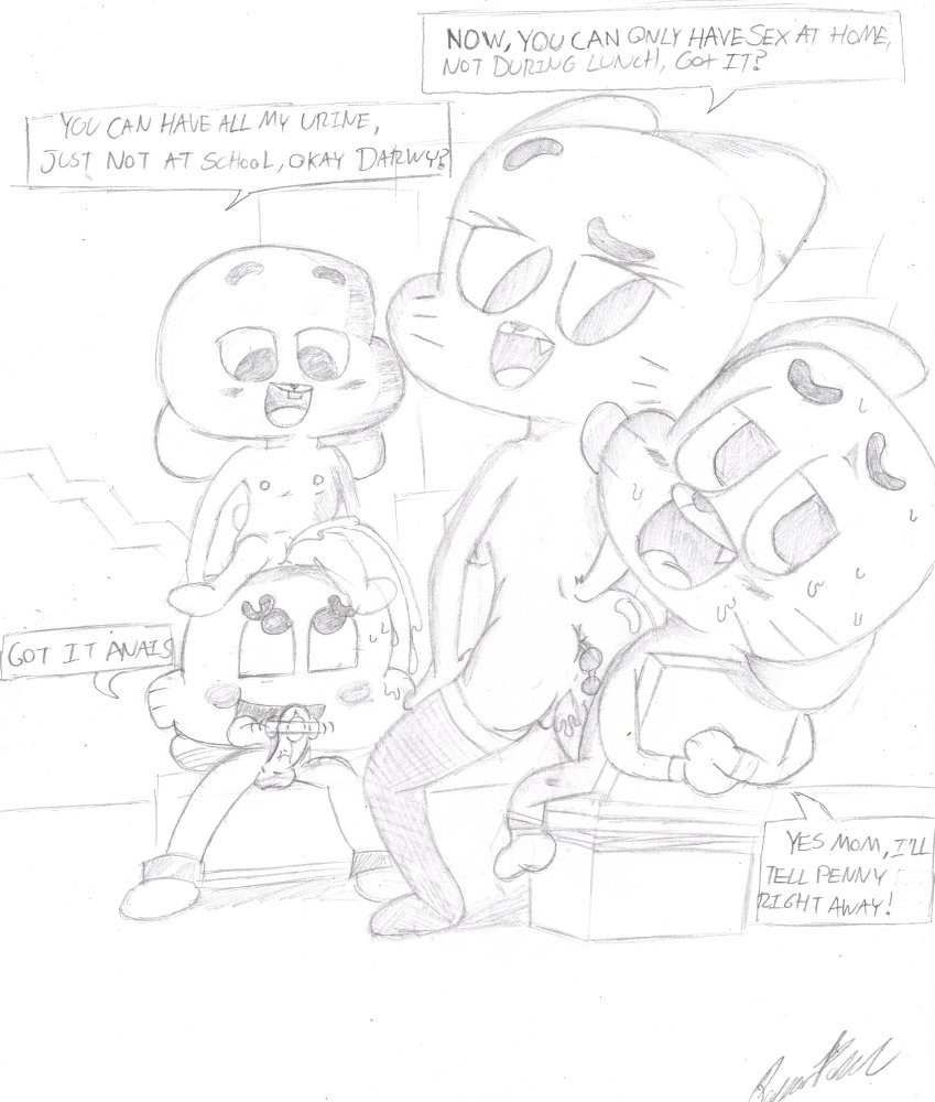 gumball clare amazing world of Bro did you just seriously talk during independent reading time