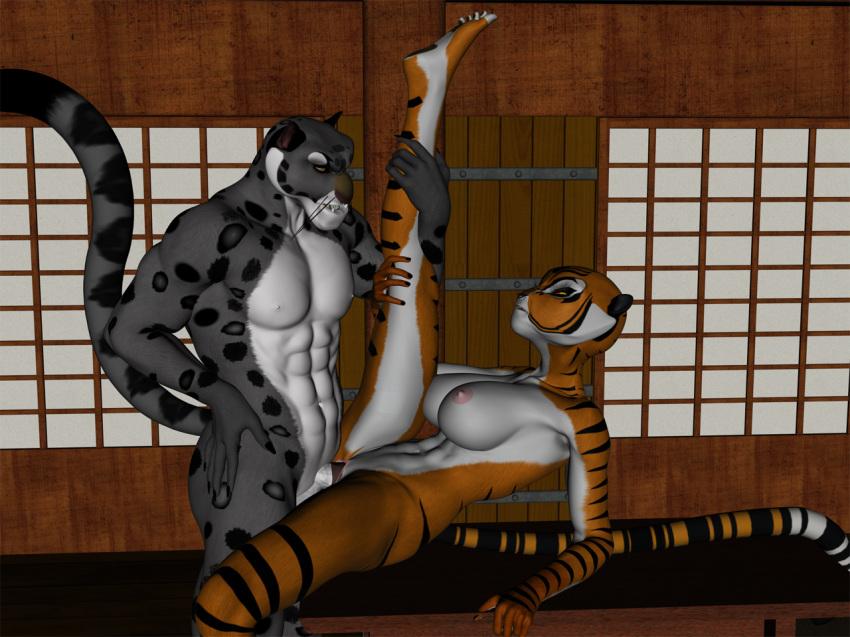panda fu kung po naked O-tsuru one piece